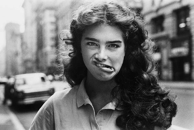 Tom Zito Photography Brooke Shields New York City 1981
